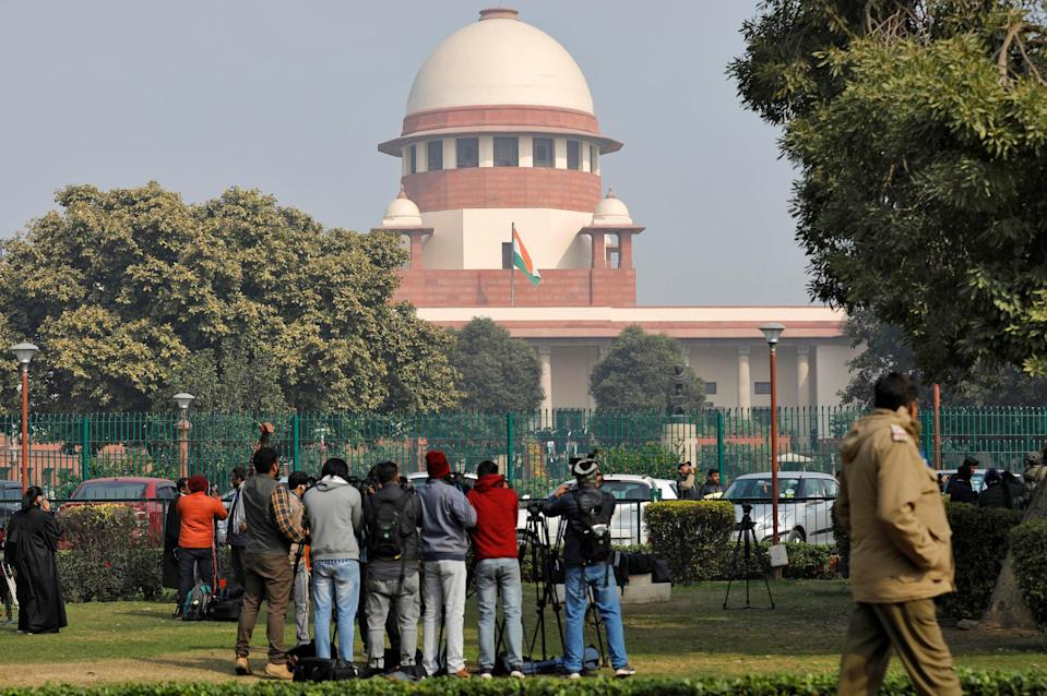 FILE PHOTO: Supreme Court in New Delhi. A Bombay court has granted bail to a 23-year-old rape accused for battling 'Peter Pan Syndrome' (REUTERS)