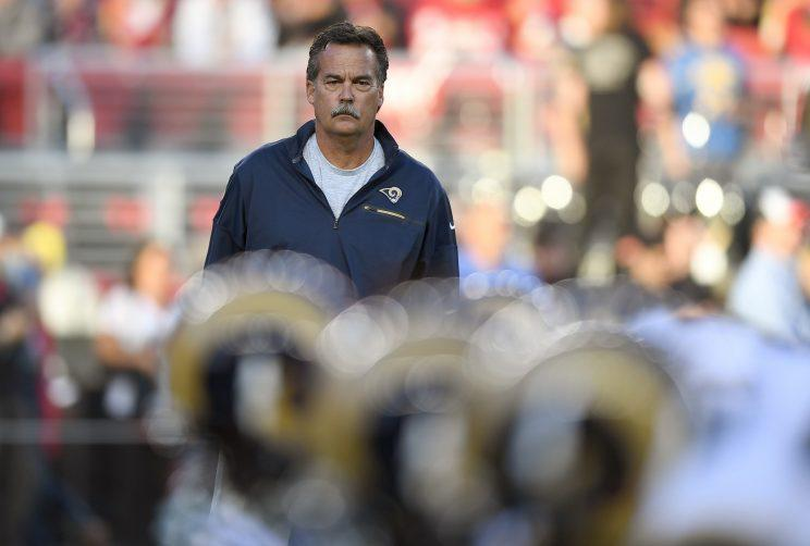 Former LA Rams coach Jeff Fisher tells assistants he's been fired
