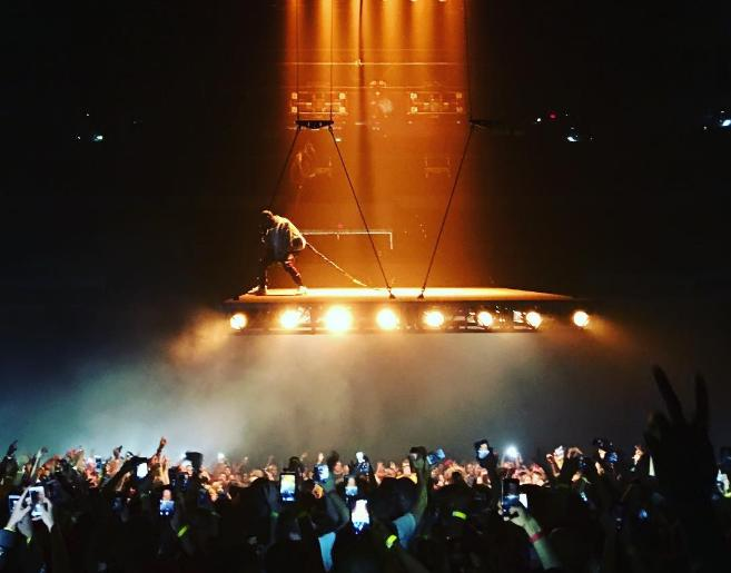 SA rapper CassperNyovest claims that Kanye West jacked his floating stage idea