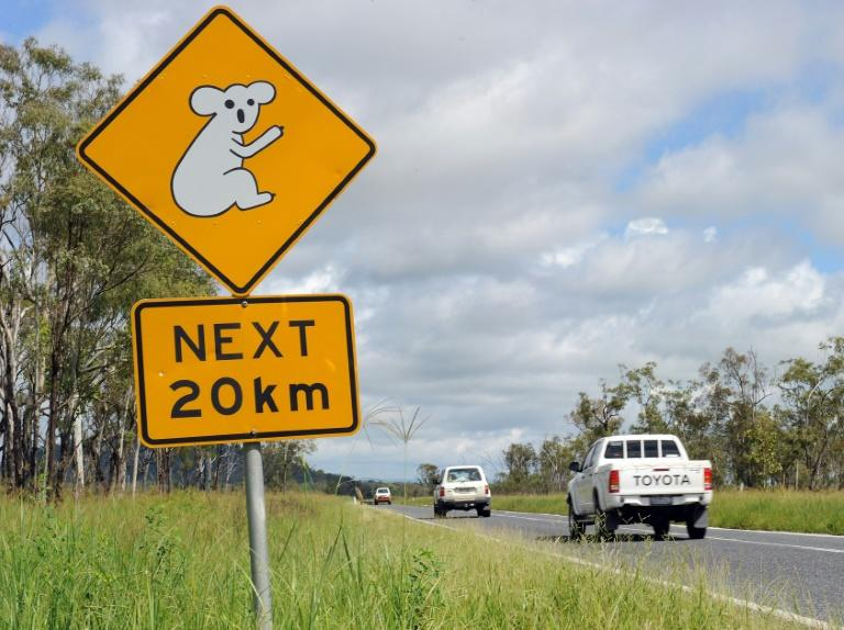 Queensland police said the car was spotted early on Sunday morning in the outback town of Banana