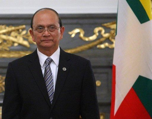 Thein Sein was the former prime minister in the junta, but gave up his army role and took office as president