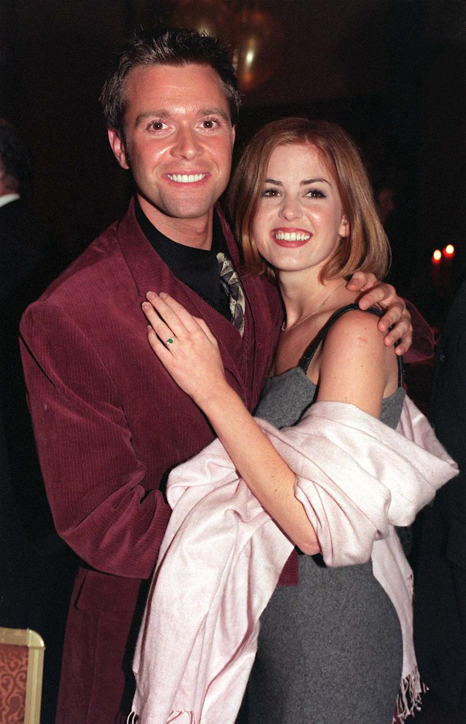 Darren Day was engaged to Isla Fisher, who went on to marry Sacha Baron Cohen. (Photo by Michael Crabtree - PA Images/PA Images via Getty Images)