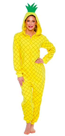 Silver Lilly Slim Fit Pineapple Onesie (Photo via Amazon)
