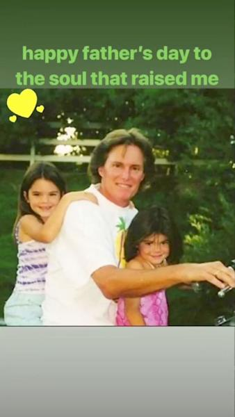 Kendall and Kylie Jenner Wish Caitlyn Happy Father's Day