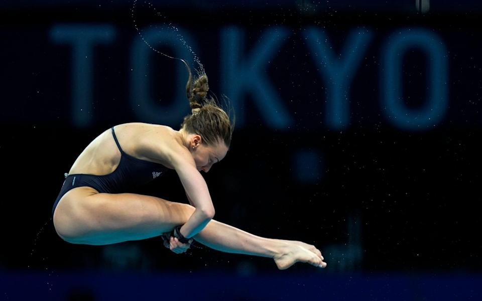 Lois Toulson needs to improve to make sure she makes the top 12 in the women's diving 10m platform semifinal - AP