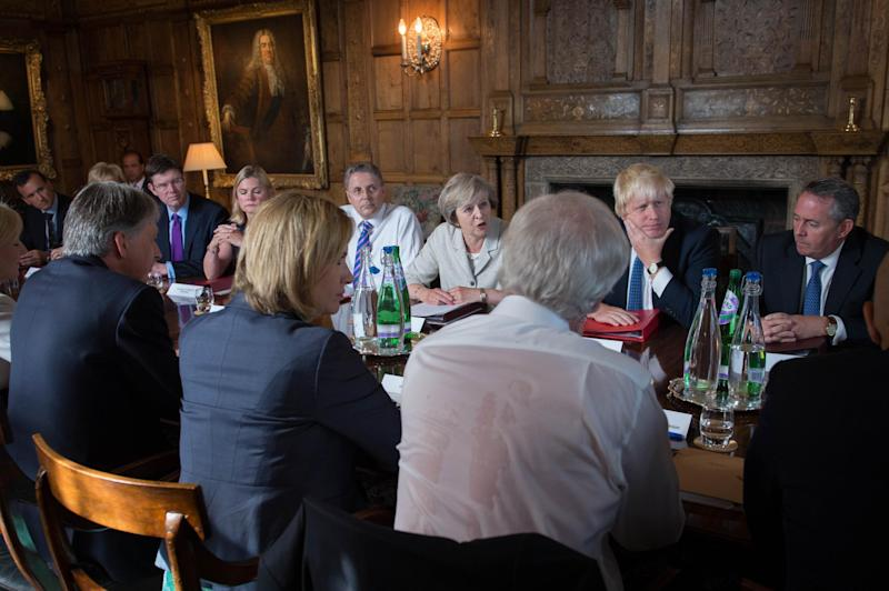 The Brexit summit at Chequers set the scene for the first of many important and hard-fought confrontations between the executive and the legislature: PA