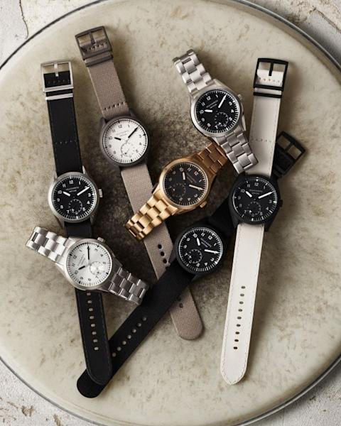 AllSaints has just released its first collection of watches