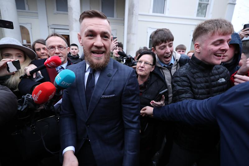 Conor McGregor Hit With Six Month Driving Ban, €1000 Fine For Speeding