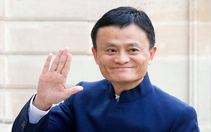 Jack Ma, founder and CEO of the Alibaba Group - Jacques Brinon /Earns Alibaba