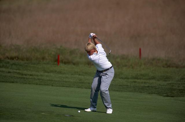 <p>John Daly wasn't even supposed to be playing at the 1991 USPGA Championship. Ninth on the alternates list, he was the only man who could attend when Nick Price withdrew. The unknown then defied 1000-1 odds (sound familiar?) to claim glory. </p>