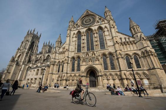 York is aiming to have a car-free city centre by 2023 (AFP/Getty)