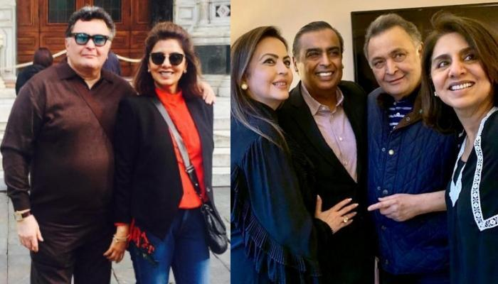Neetu Kapoor Thanks Ambani Family For Being Their 'Guardian Angels' In Rishi Kapoor's Cancer Journey