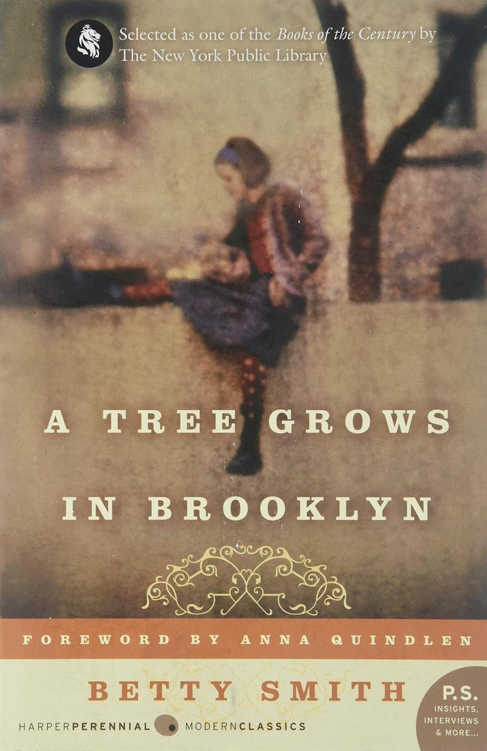 """<p>""""I first read <span><strong>A Tree Grows in Brooklyn</strong></span> ($16, originally $19) as a preteen and thought it was the best book I'd ever read. A decade later, and I still feel the same magic I did then. It's a coming-of-age story that I can still relate to, and it will make you feel everything all at once. I find something new to absorb each time I read it."""" - IY</p>"""