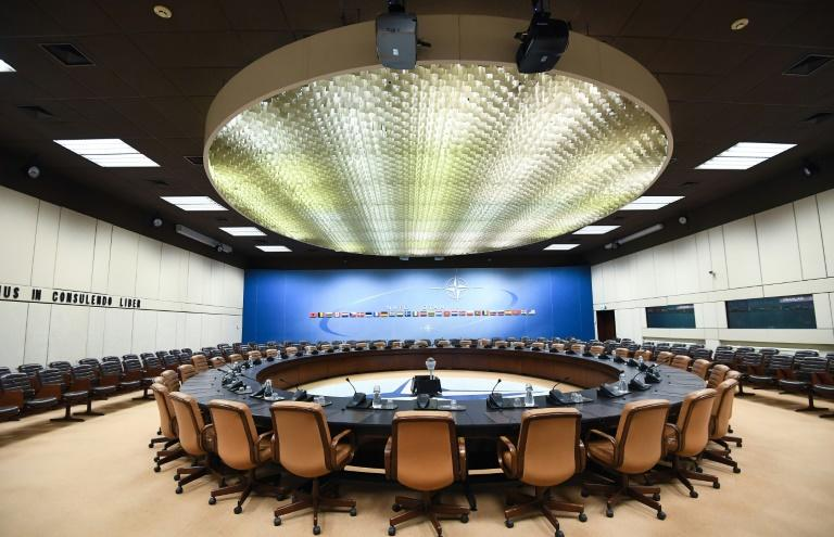 The NATO ministerial will be the last meeting held in the historic North Atlantic Council room, as the alliance moves to a new headquarters