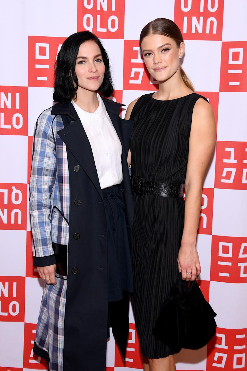 Nina Agdal and Leigh Lezark Celebrate Store Opening with VIP Event at Hudson Yards, NYC on March 14, 2019 in New York City.