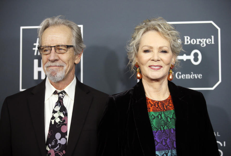 Jean Smart opens up about losing husband Richard Gilliland (pictured in 2020) while filming Hacks. (Photo: REUTERS/Danny Moloshok)