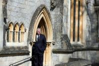 Sunday service at Royal Chapel of All Saints, Windsor Great Park, following Prince Philip's death