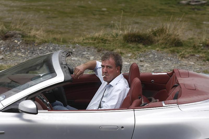 """The BBC has suspended Jeremy Clarkson, the controversial host of popular motoring programme """"Top Gear"""", after he was involved in a """"fracas"""" with a producer (AFP Photo/Ana Poenariu)"""