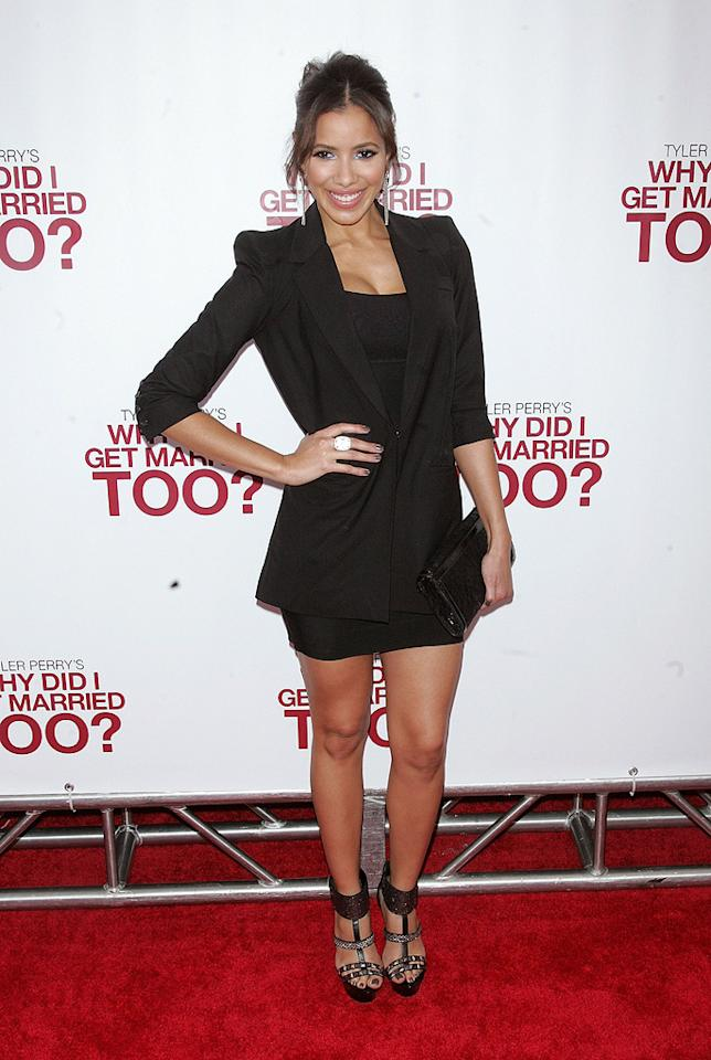 """Julissa Bermudez at the New York City premiere of <a href=""""http://movies.yahoo.com/movie/1810073266/info"""">Tyler Perry's Why Did I Get Married Too?</a> - 03/22/2010"""