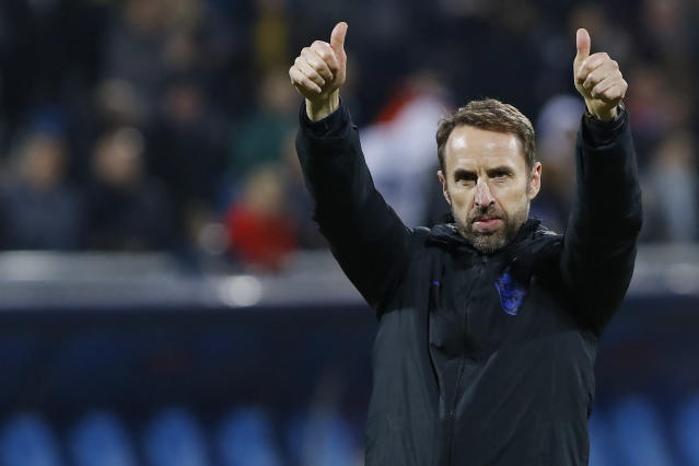England's head coach Gareth Southgate (Credit: Getty Images)