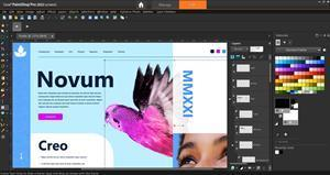 With the Frame Tool, users can place photos or other raster objects into shapes to accelerate the creation of digital layouts.