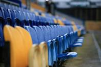 Fans have been banned from football stadiums during the coronavirus pandemic