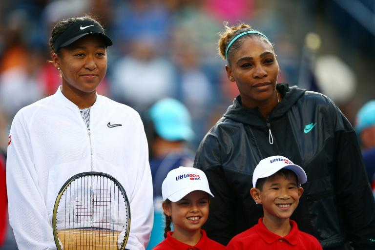 Top-seeded defending champion Naomi Osaka of Japan, left, and 23-time Grand Slam winner Serena Williams will not have umpire Carlos Ramos handle their match should they meet at the US Open as they did in last year's women's final