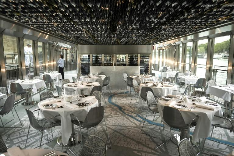 Lunch onboard the glass-walled boat, an idea Ducasse first dreamed up five years ago, will start at 100 euros ($117), and dinner from 150 euros