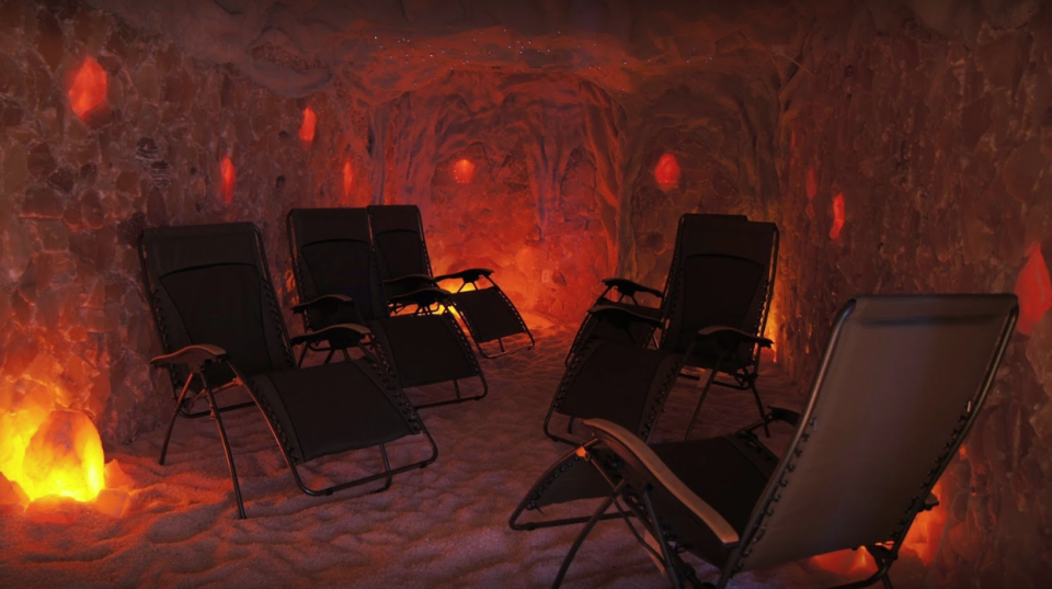 """<p>North Dakota can get chilly in the winter months—one way to warm up is checking out the local salt caves. Located in Bismarck, the <a href=""""https://www.saltcavend.com"""" rel=""""nofollow noopener"""" target=""""_blank"""" data-ylk=""""slk:Salt Cave Wellness Relaxation Center"""" class=""""link rapid-noclick-resp"""">Salt Cave Wellness Relaxation Center</a> offers different halo therapy treatments that help with anything from asthma to eczema. Another kind of therapy is available at the <a href=""""https://laughingsunbrewing.com"""" rel=""""nofollow noopener"""" target=""""_blank"""" data-ylk=""""slk:Laughing Sun Brewing Co."""" class=""""link rapid-noclick-resp"""">Laughing Sun Brewing Co.</a>—this fun spot has a good assortment of craft beers and claims to be North Dakota's first brewery. <a href=""""https://www.dakotazoo.org"""" rel=""""nofollow noopener"""" target=""""_blank"""" data-ylk=""""slk:The Dakota Zoo"""" class=""""link rapid-noclick-resp"""">The Dakota Zoo</a> is a great family spot where you can learn about the 75 mammals and 23 birds currently housed. If all fails, check in to the <a href=""""https://www.ihg.com/staybridge/hotels/us/en/bismarck/bisgt/hoteldetail"""" rel=""""nofollow noopener"""" target=""""_blank"""" data-ylk=""""slk:Staybridge Suites"""" class=""""link rapid-noclick-resp"""">Staybridge Suites</a>, where there are indoor heated pools. </p>"""