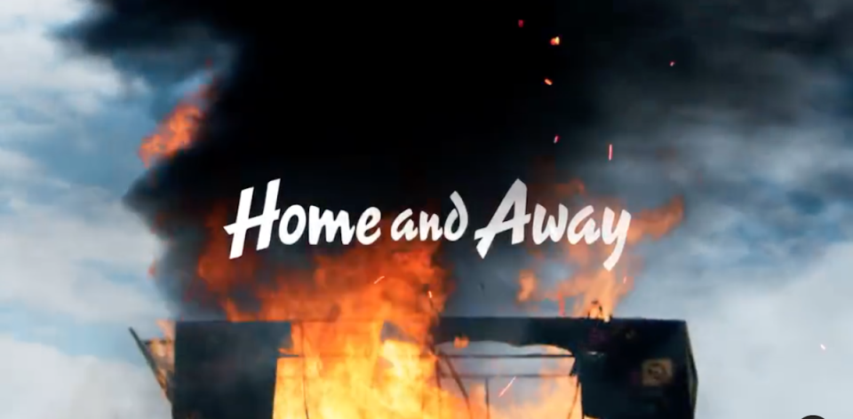 Home and Away house fire