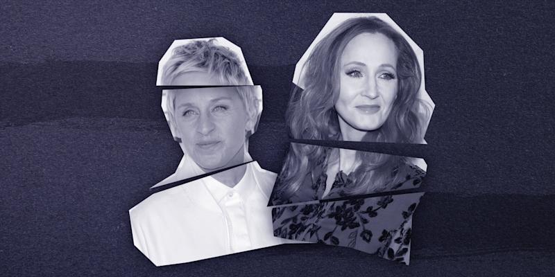 Ellen DeGeneres and J.K. Rowling are the latest case studies in A-list branding gone wrong.