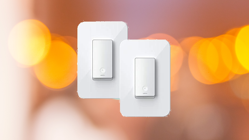 Wemo Wi-Fi Light Switch. (Photo: Amazon)