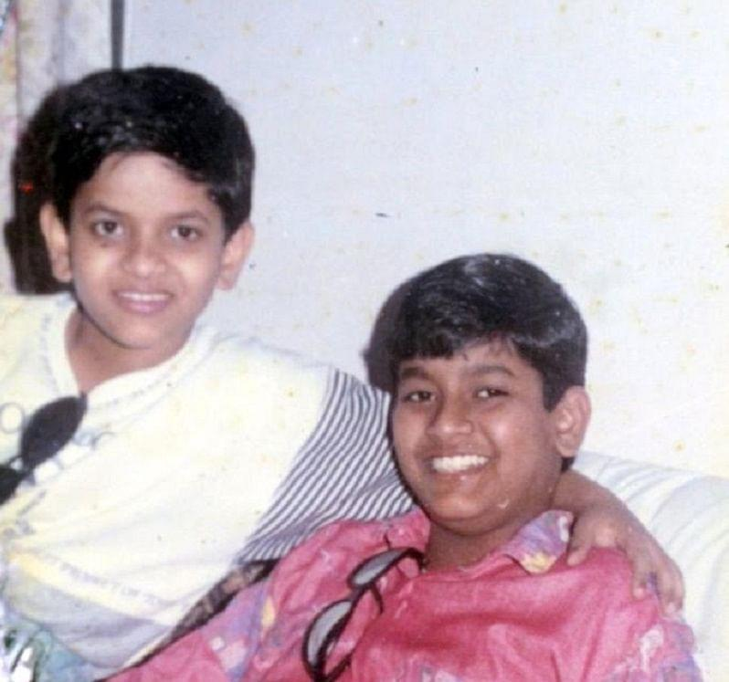 Gaurav and his brother