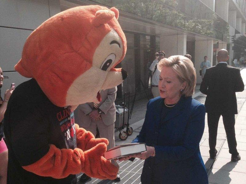 Hillary Clinton and RNC Squirrel