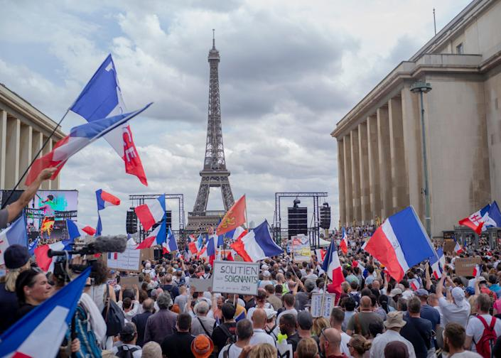 France Virus Outbreak (Copyright 2021 The Associated Press. All rights reserved)