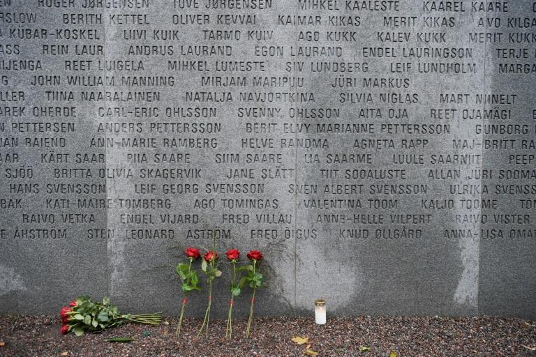 There is a memorial for the victims of the Estonia disaster in Stockholm