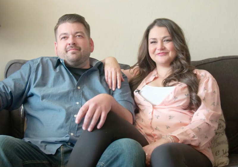 Mike and Allie have been dating for four years. Photo: Barcroft TV