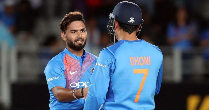 Pant has long been touted the heir to MS Dhoni's throne