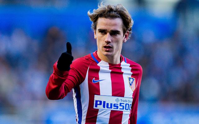 Antoine Griezmann signs new Atletico Madrid contract to end Man Utd interest