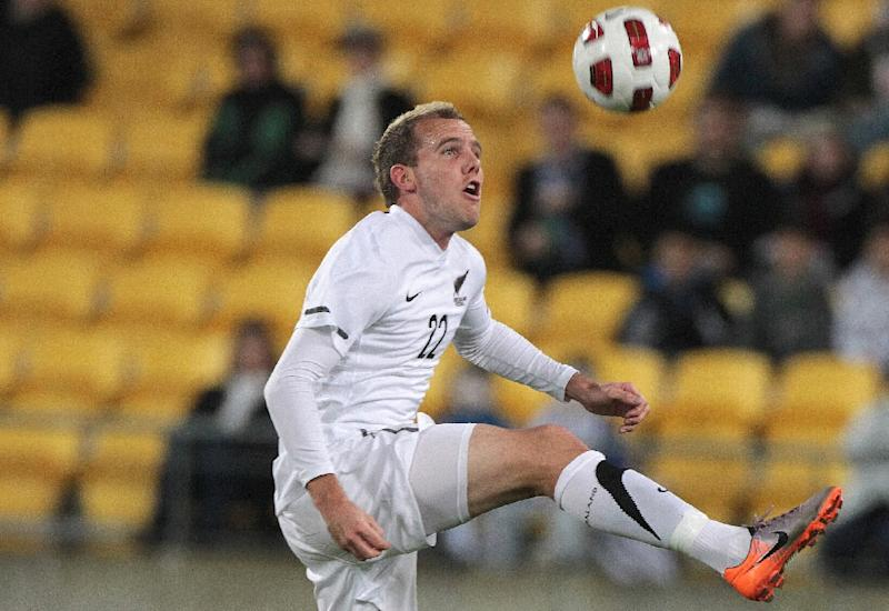 Jeremy Brockie in Wellington, New Zealand in 2010