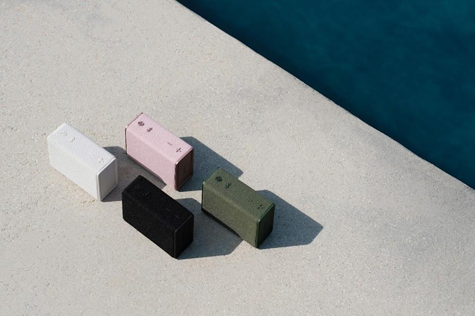 <p>If you love modern and sleek speakers the <span>Urbanista Sydney Speakers</span> ($50) comes in four gorgeous colors.</p>