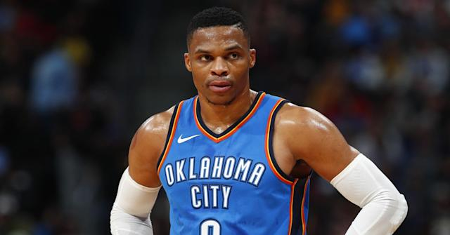 After a fourth right knee surgery, Russell Westbrook's status for the start of the Thunder's season might be in doubt.