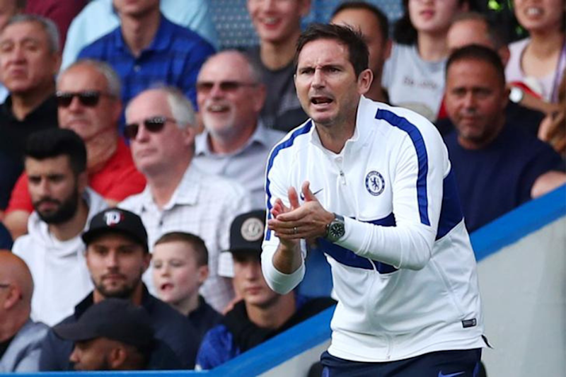 Frank Lampard Says Chelsea's Misfiring Strikers will Come Good