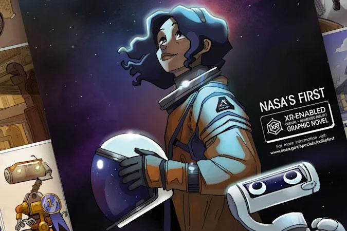 Image from NASA graphic novel 'First Woman'