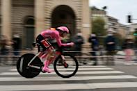 Team Sunweb rider Jai Hindley is the first Australian on the Giro d'Italia podium