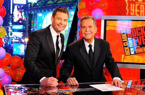 """Ryan Seacrest: Hosting New Year's Eve TV Bash Without Dick Clark Is """"Surreal"""""""