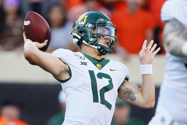 Baylor QB Charlie Brewer is a very reliable prospects who rarely beats himself. (Getty Images)