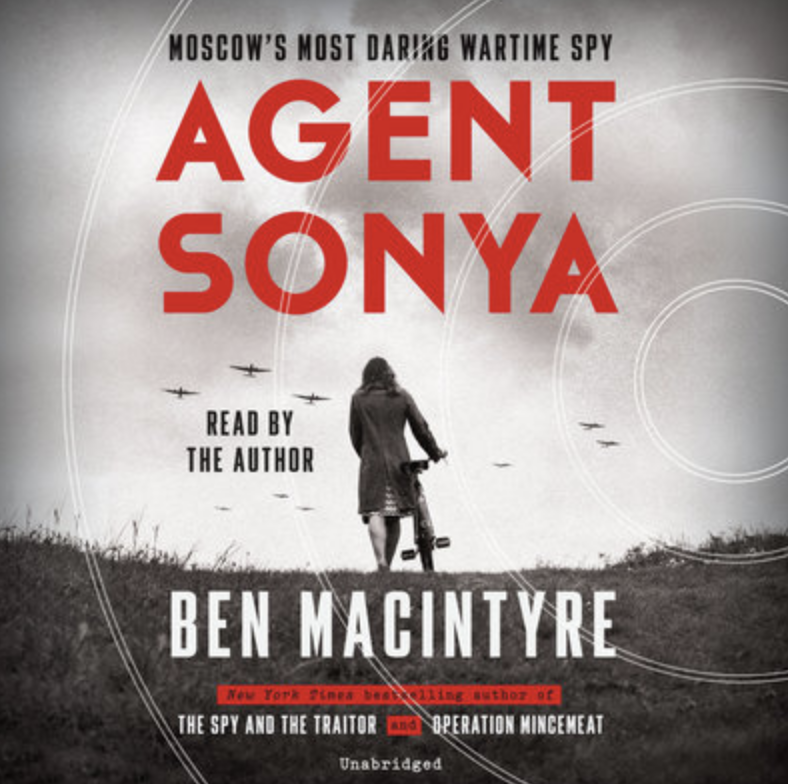 """Why you'll love it:This true-life spy story, set in1942, follows a woman code-named """"Sonya,"""