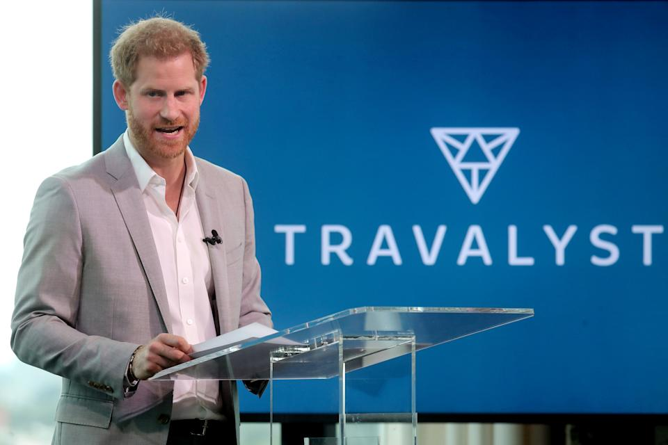 The Duke delivered a speech about how the travel industry could help the environment [Photo: Getty]