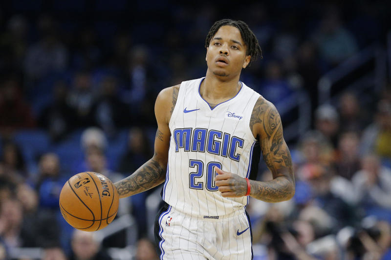 Markelle Fultz #20 of the Orlando Magic